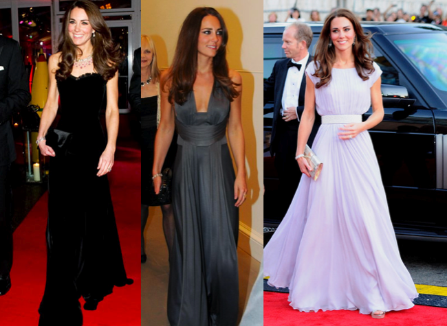 The Beauty Kate Middleton in Gown, Steal Her Style | Kate ...