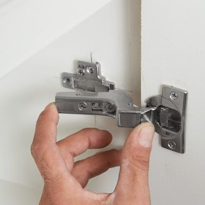 How To Install Concealed Euro Style Cabinet Hinges