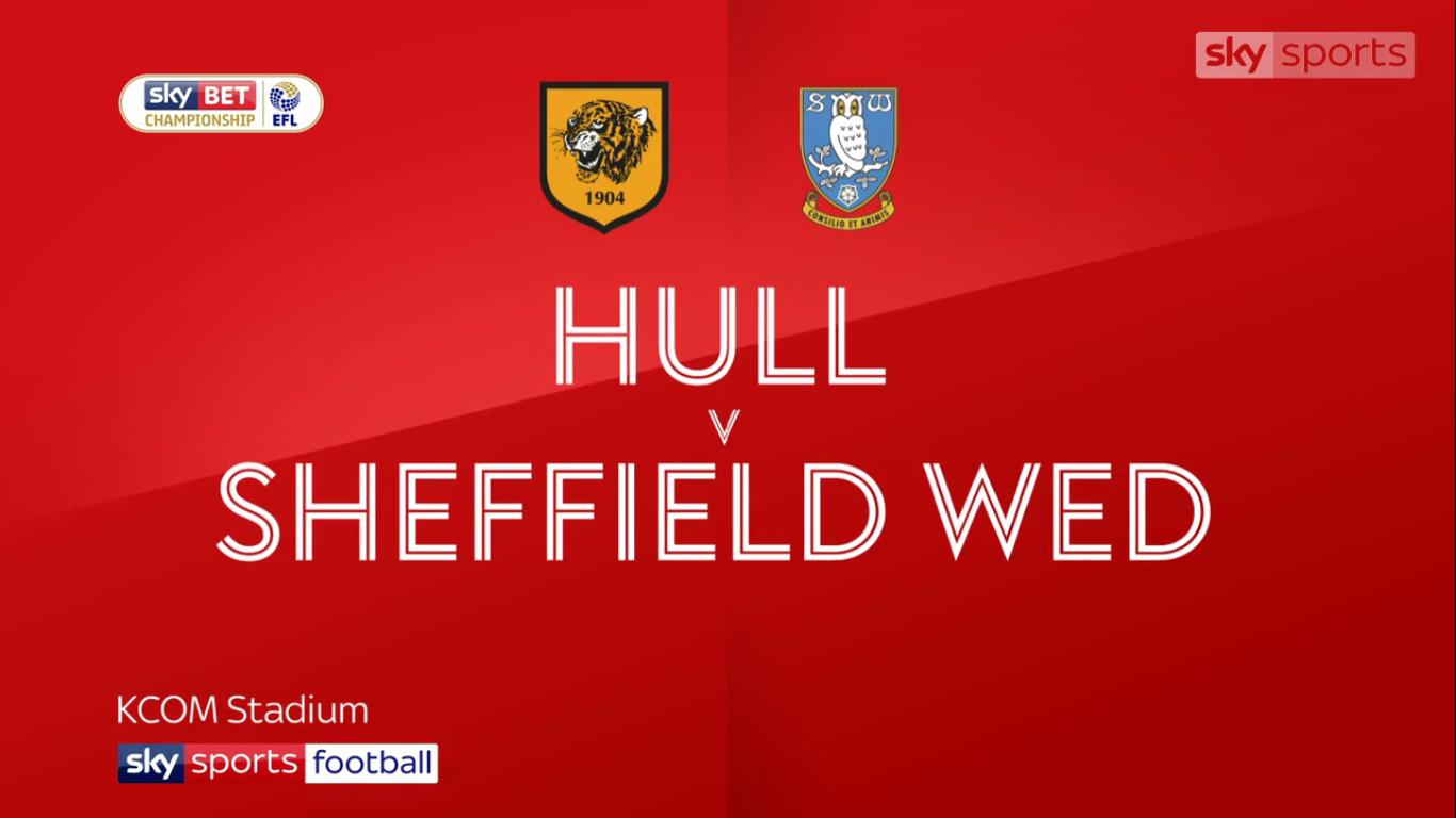Hull City Sheffield Wednesday Championship Mac Ozeti Izle 14 04 2018
