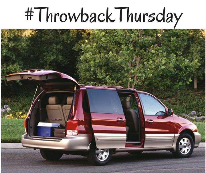 Tbt 2003 Kia Sedona Kia Sedona Chrysler Pacifica Mini Van