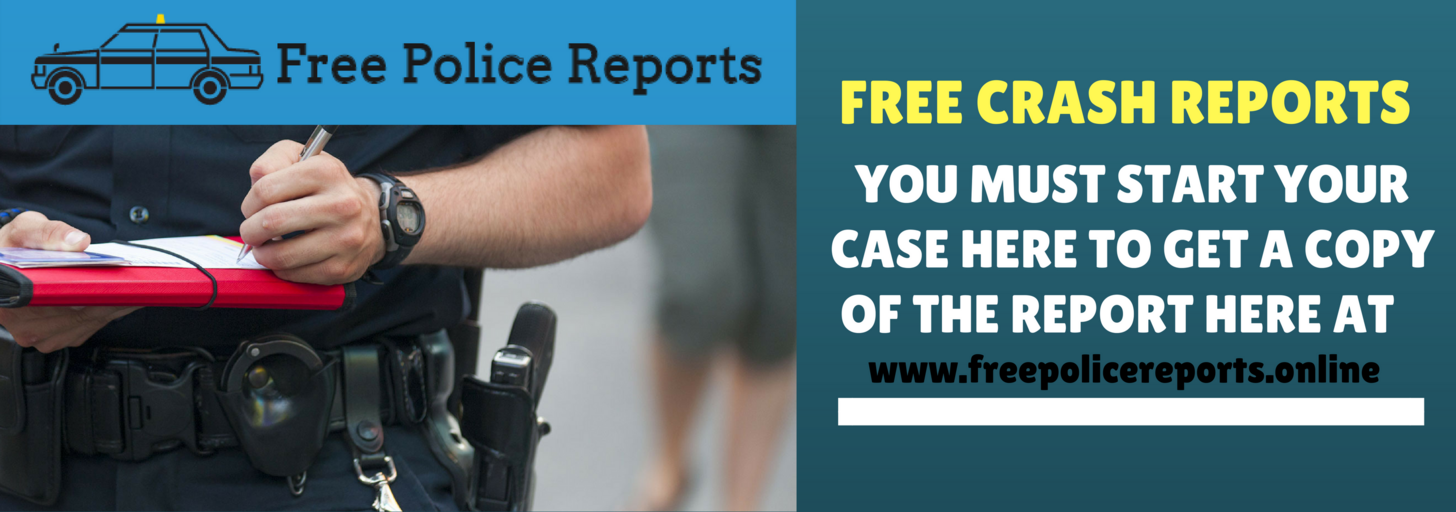 Get your free police accident reports online for your city, county