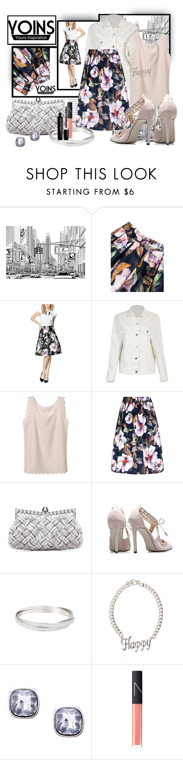 """""""Noblewoman"""" by tasha1973 ❤ liked on Polyvore featuring NARS Cosmetics and Marc Jacobs"""