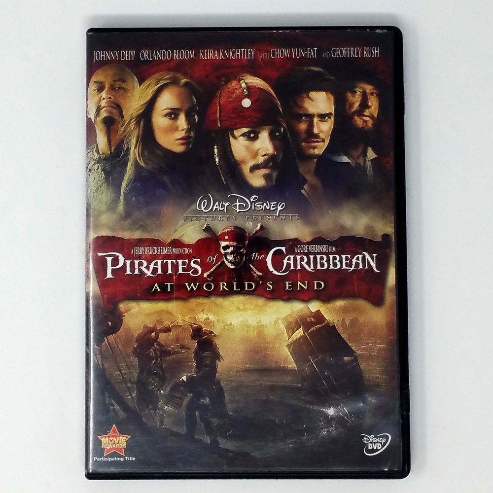 Pirates Of The Caribbean At World S End Dvd 2007 Disney Dvd Movie Disney Pirates Of The Caribbean End Of The World Free Movies Online