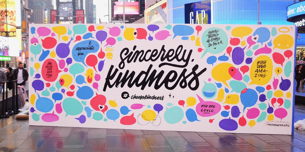 On World Kindness Day, This Organization Erected 3