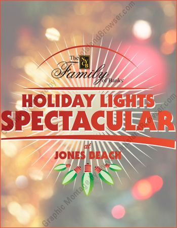 holiday lights spectacular at jones beach light extravaganza driving tour long island