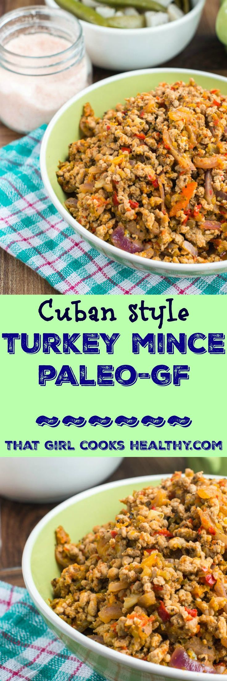 Turkey mince (Cuban style) | Recipe | Turkey mince, Mince ...