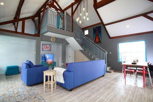 Converted Barn Villa Lembang In Bandung Jawa Barat Indonesia House Rental House Cozy Living