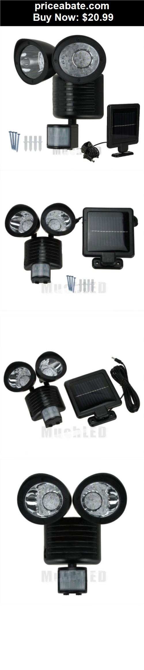 Farm Garden 22 LED Solar Powered Motion Sensor PIR Security Light