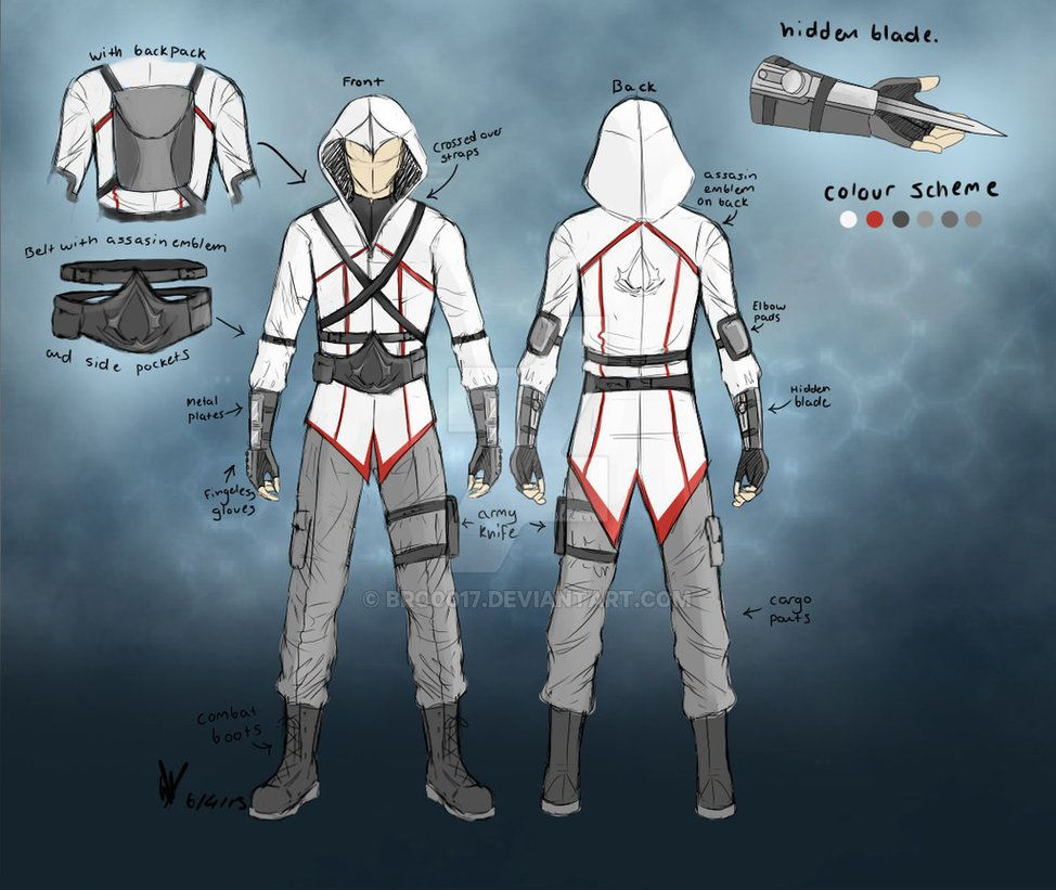 Assassin S Creed Modern Design By Bro0017 Assassins Creed