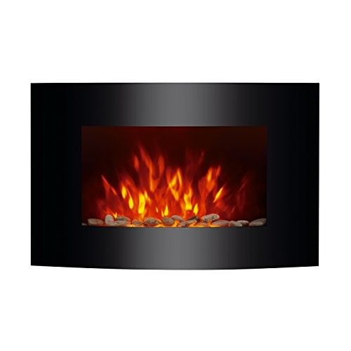 Homcom 36 In 1500 Watt Wall Mounted Electric Fireplace Wall