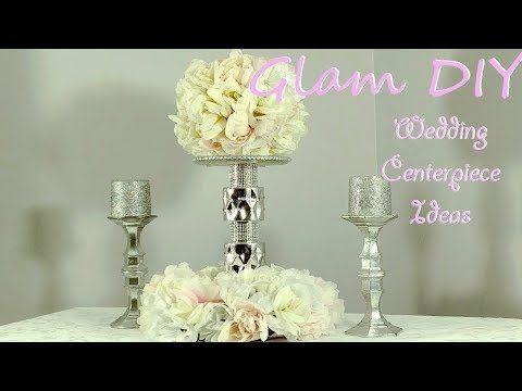 4 dollar tree diy glam wedding centerpiece bling decor ideas 4 dollar tree diy glam wedding centerpiece bling decor ideas youtube junglespirit Choice Image