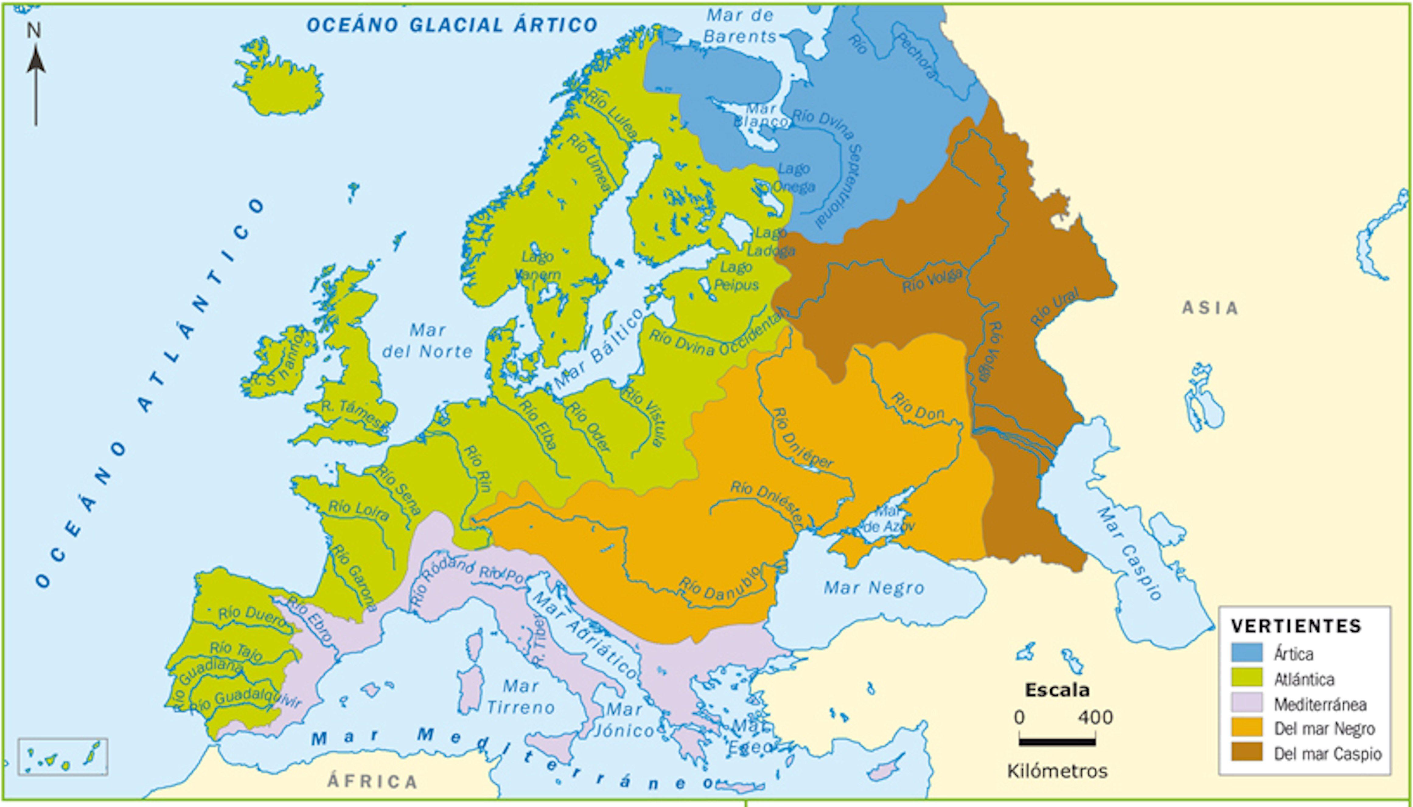 Mapa Rios De Europa.Mapa Rios Y Lagos De Europa Buscar Con Google Mapa De