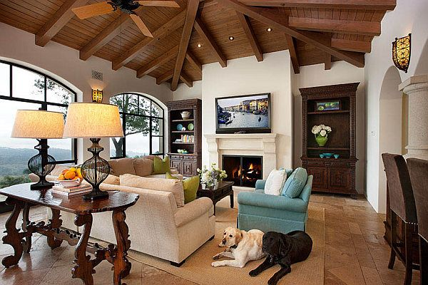 Decorating With A Spanish Influence Living Room