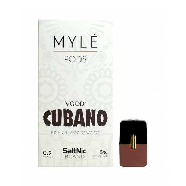 MYLE Pod Tanks - VGOD Cubano (4 pack) in 2019 | Buy Vapes and