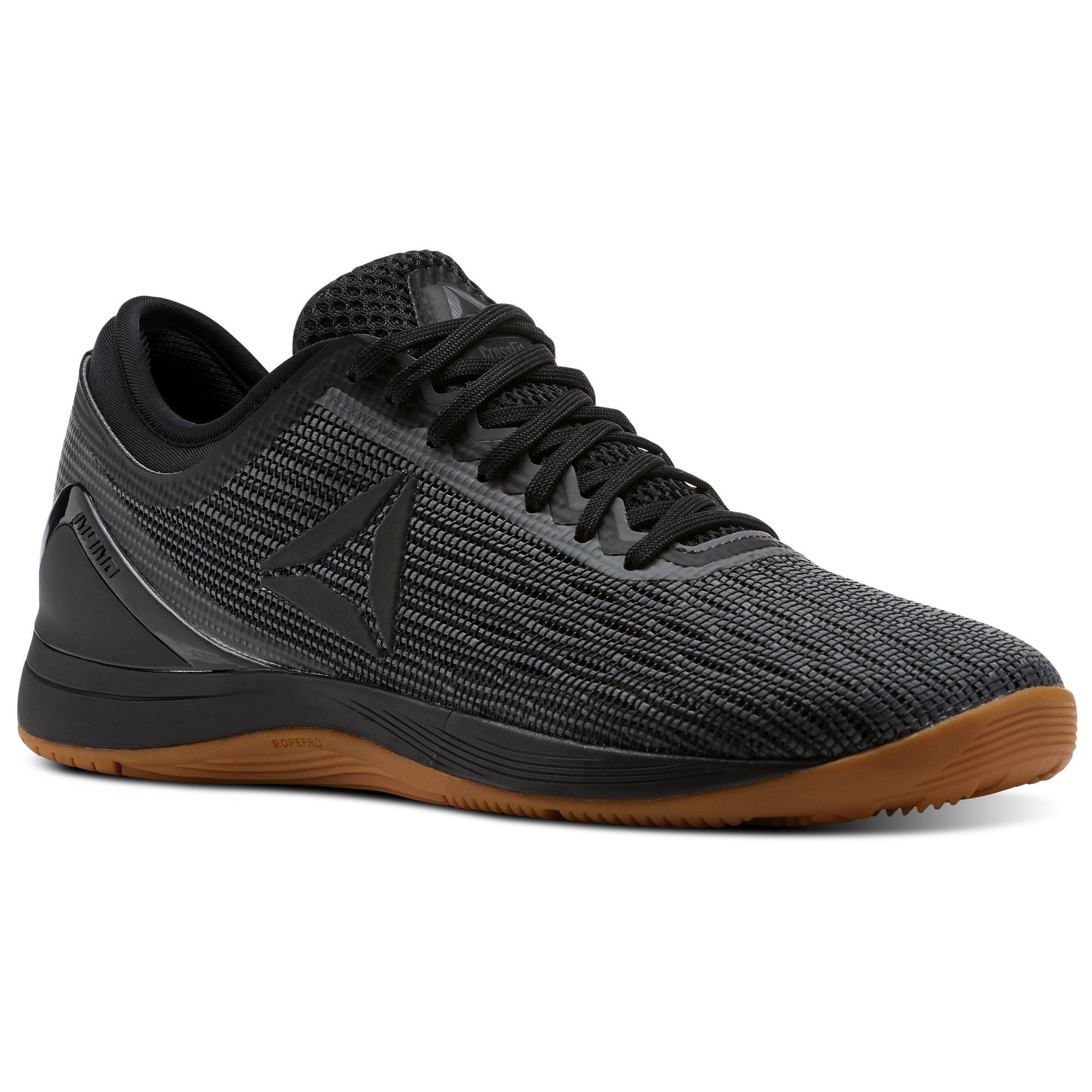 new product 36487 7d182 Shop for Reebok CrossFit Nano 8 Flexweave® - Black at reebok.com. See all  the styles and colors of Reebok CrossFit Nano 8 Flexweave® - Black at the  official ...