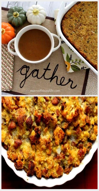 #Cornbread #Dressing #recipe #Southern #Thanksgiving Southern Cornbread Dressing ...