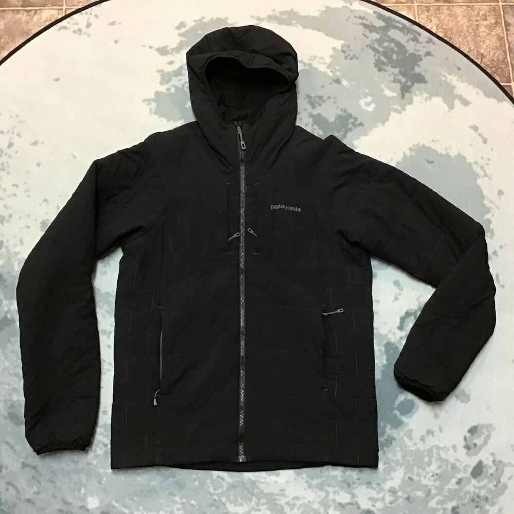 Patagonia Nano Air Hoodie Jacket Men's Small S in Black