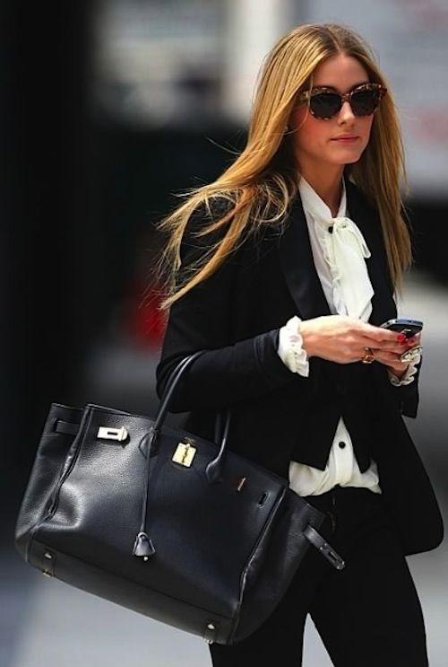 Olivia Palermo met een Hermès prijs vanaf 6500