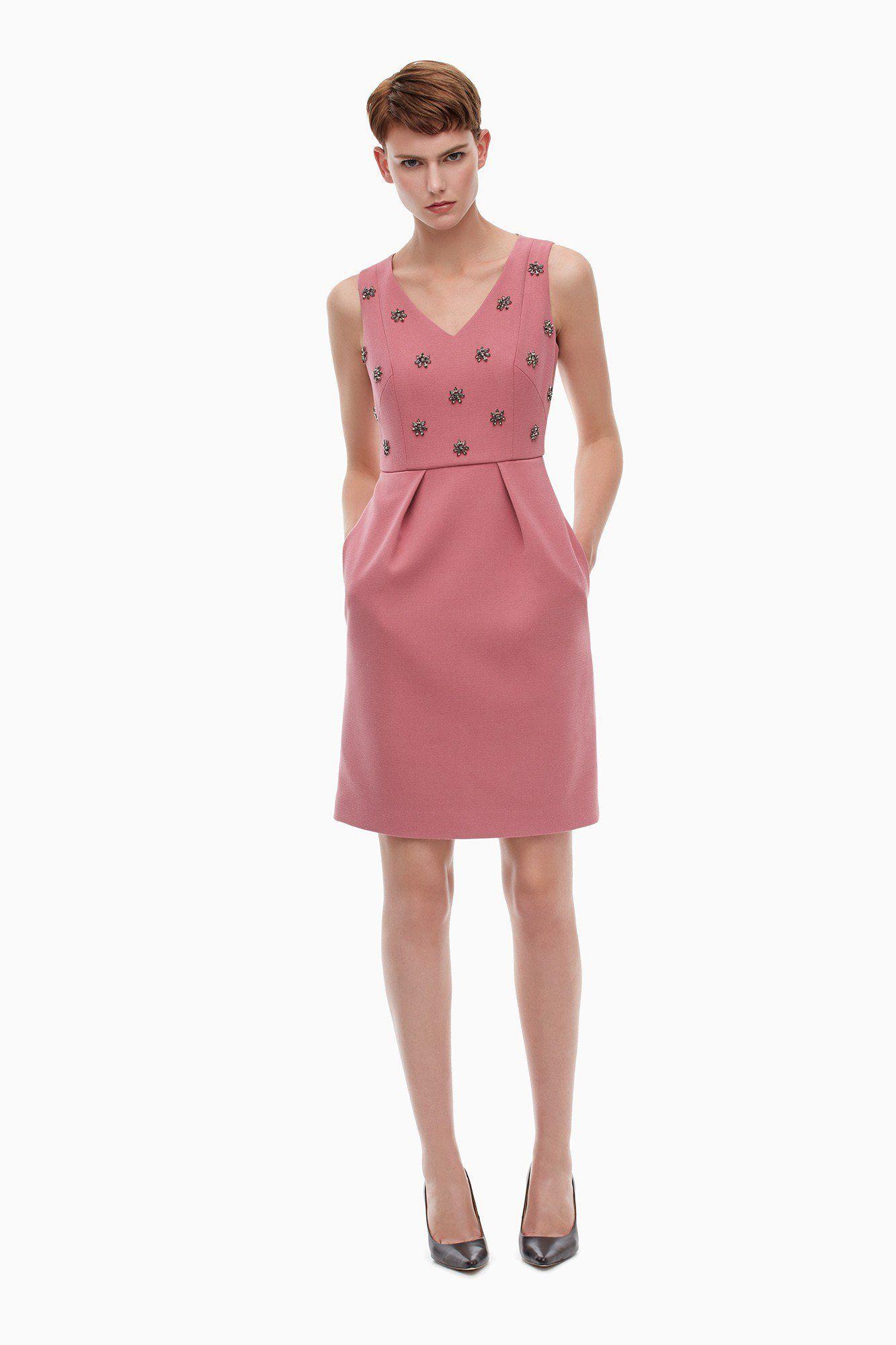 vestido con falda con pliegues - Buscar con Google | Costura DIY ...