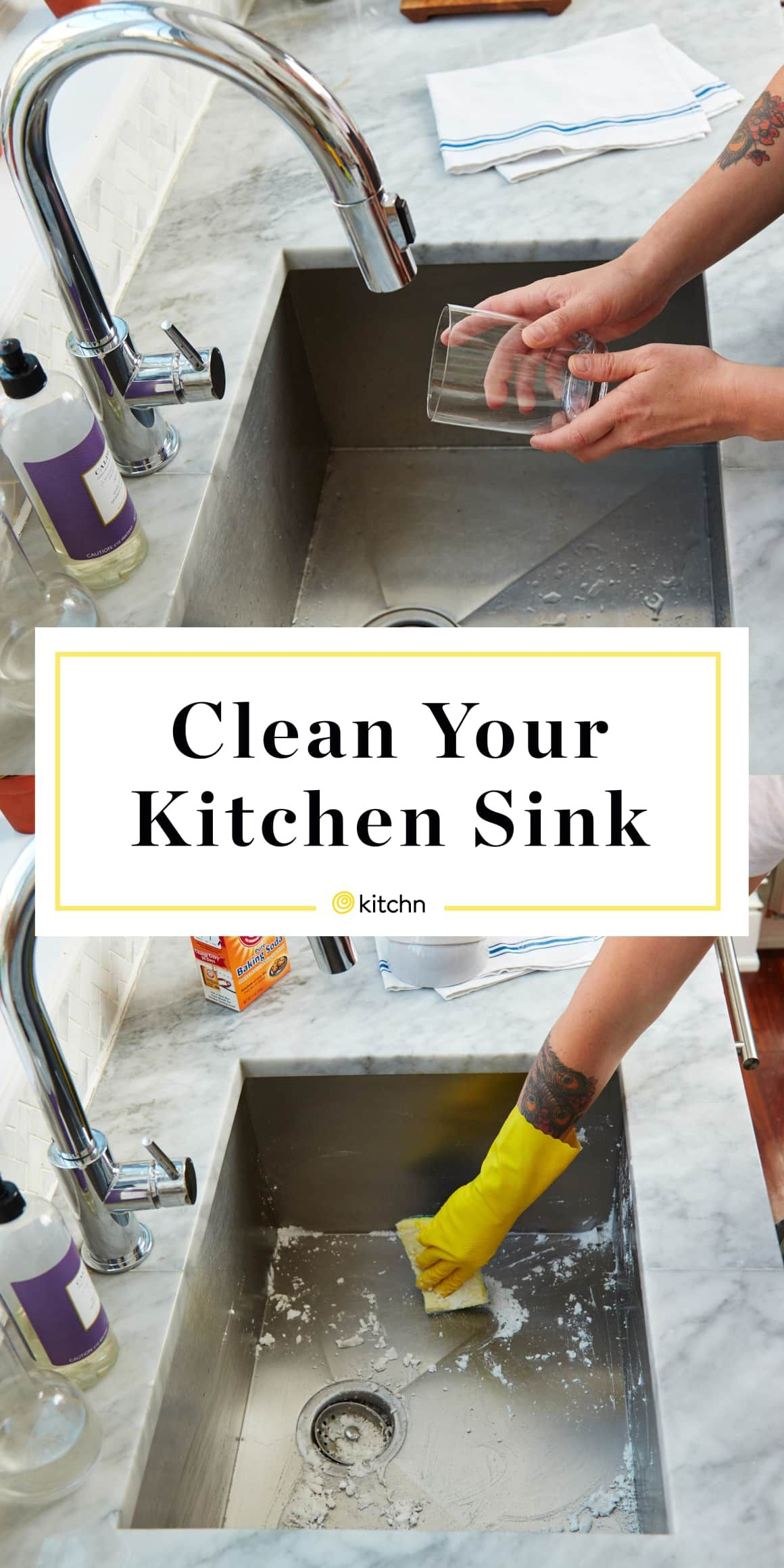 How To Clean Your Kitchen Sink Best