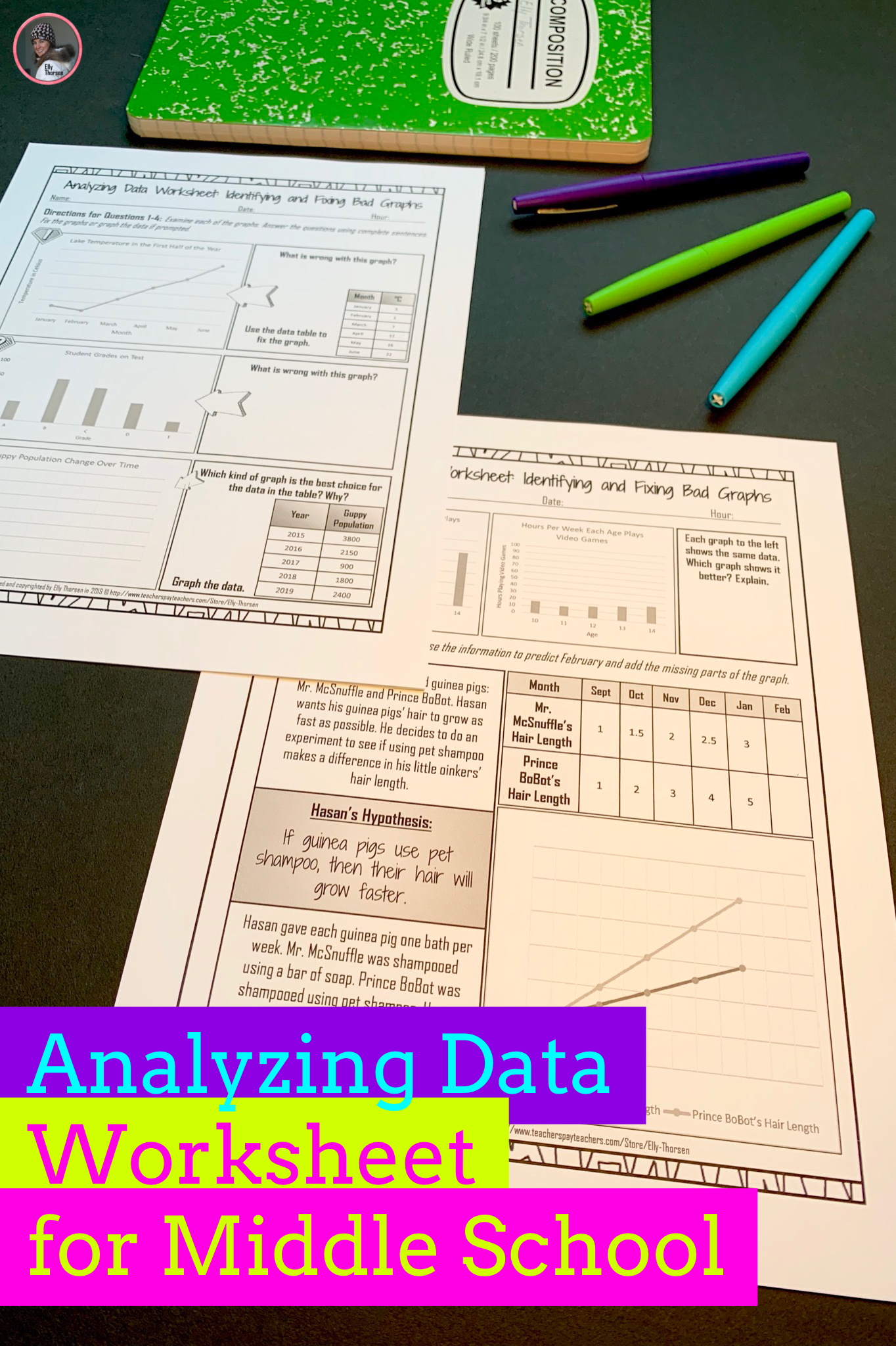 Yzing Data Worksheet Volume 2 A Scientific Method