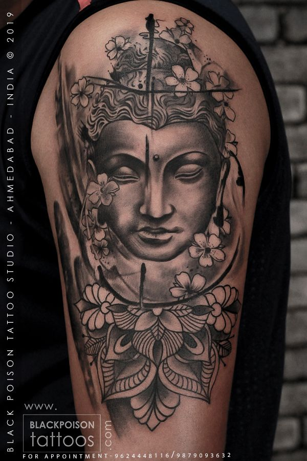 Buddha Tattoo In 2020 Buddha Tattoo Buddha Tattoo Design Buddah Sleeve Tattoo