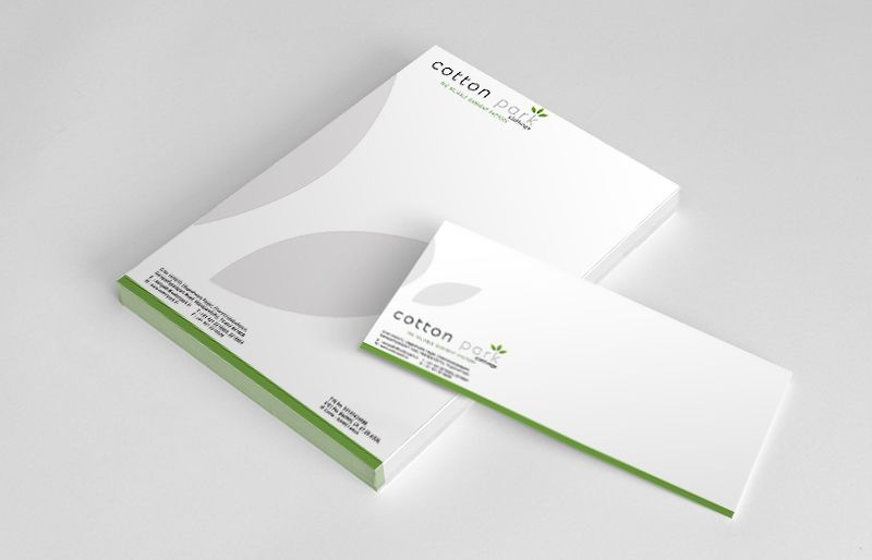 Letter Pad and Envelope for Cotton Park...