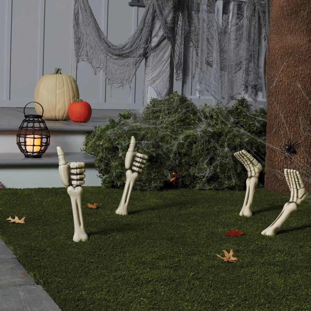 Floor 2 Halloween 2020 Door Target Skeleton Hand Thumbs Up Yard Stake Halloween Decor in 2020