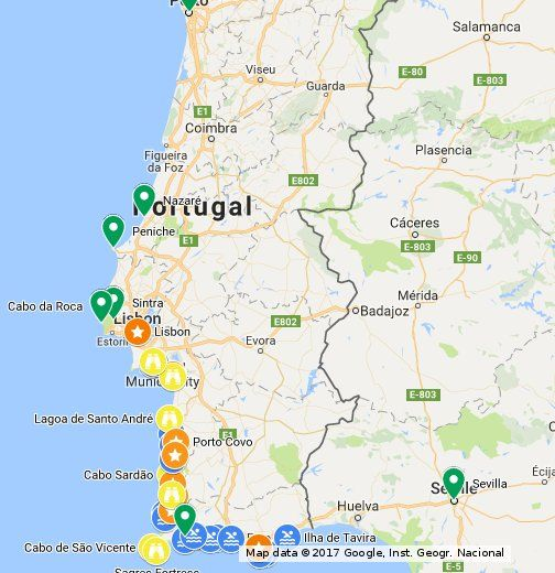 Explore The South West Coast Of Portugal On A Road Trip With This Itinerary More Details On Http X2f X2f Www Geekyexplorer Com X2f Portugal Road Plasencia