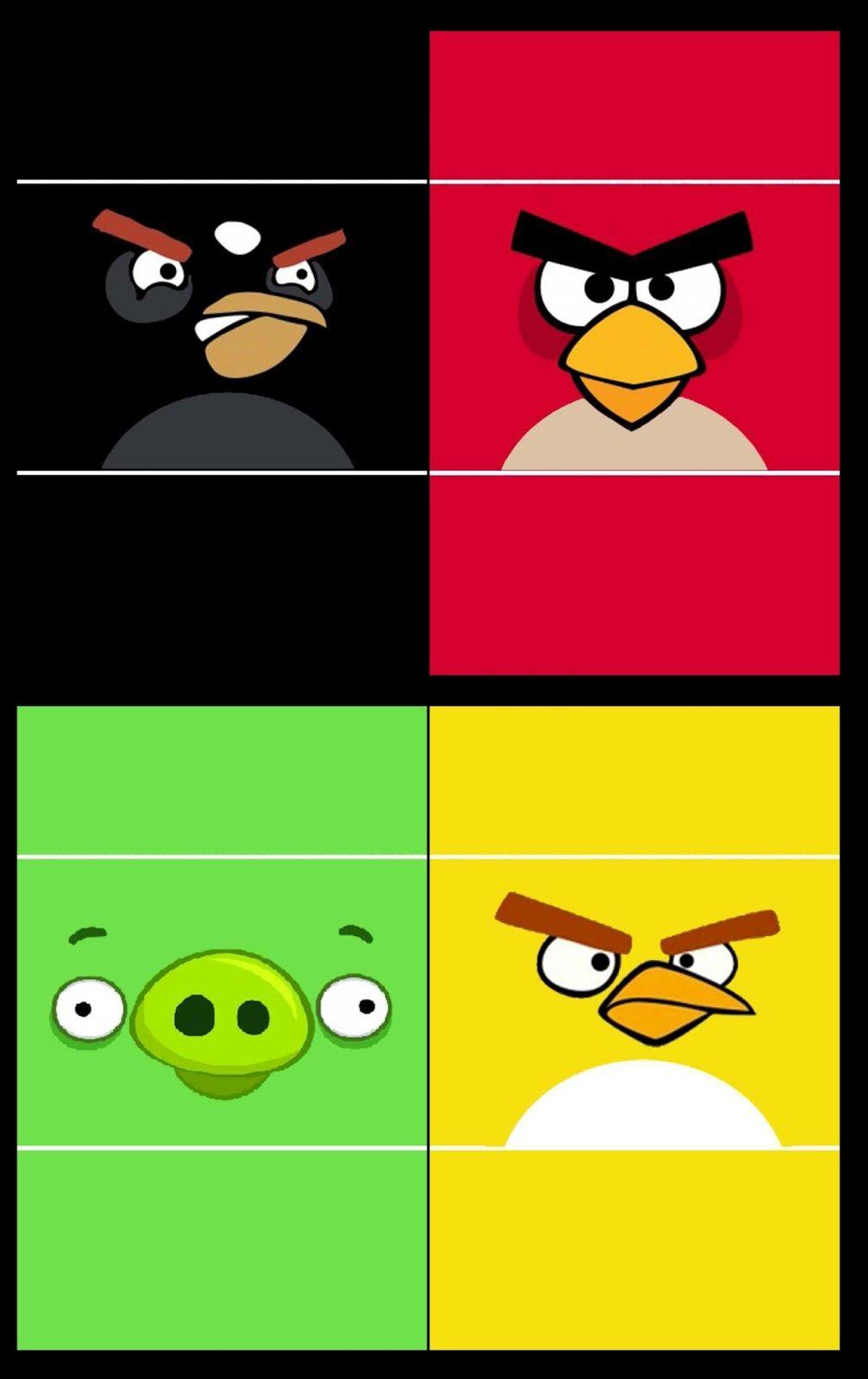 Kit Festa Angry Birds Para Imprimir Gratis Festa Angry Birds