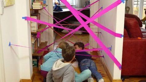 kindergeburtstag das ist das coolste geburtstagsspiel der welt laternen pinterest. Black Bedroom Furniture Sets. Home Design Ideas