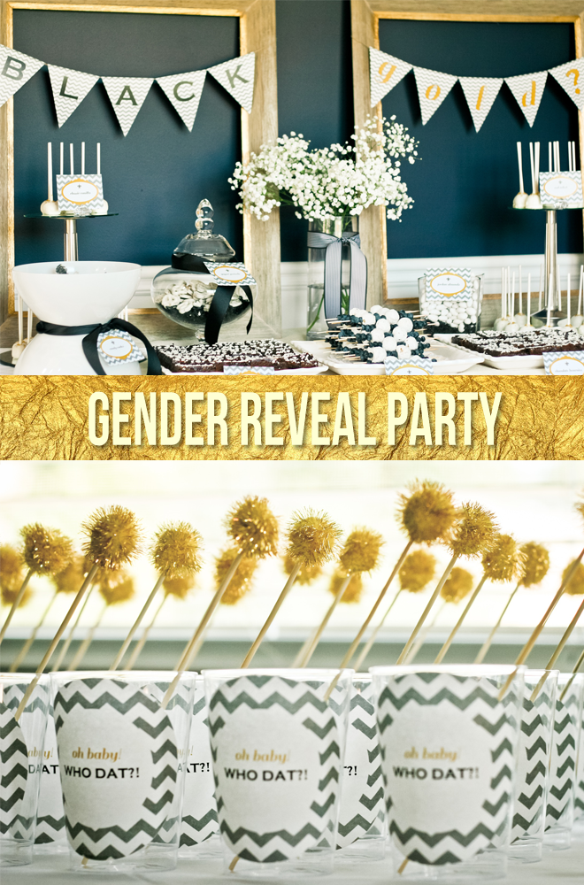 Want To Be Unique With Your Gender Reveal Party