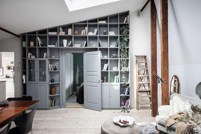 Indretning Af Hjemme Kontor I Sma Rum Bolig Inspiration Home Fashion Stue Vaegge