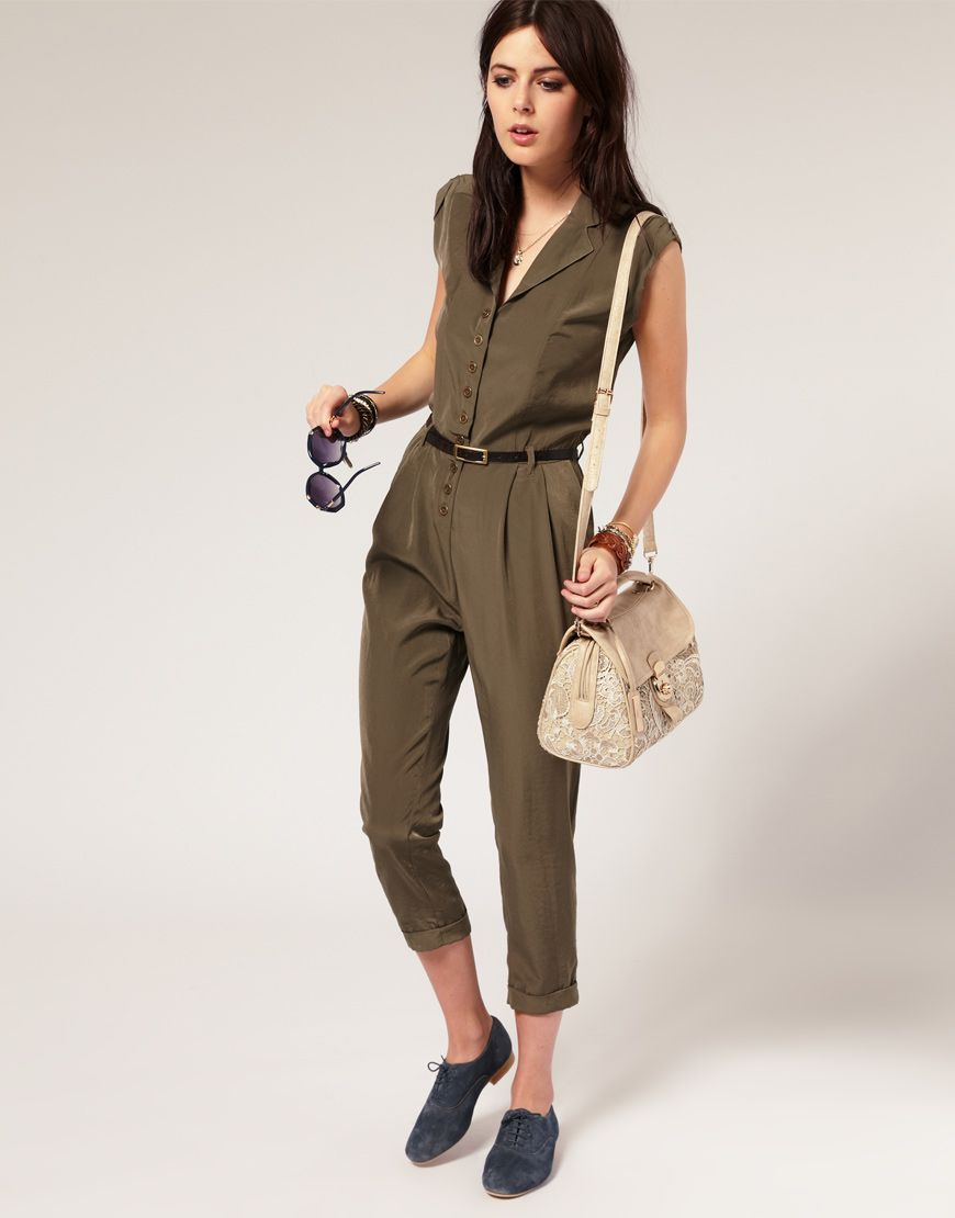 River Island Military Jumpsuit | Fashion // My Style ...