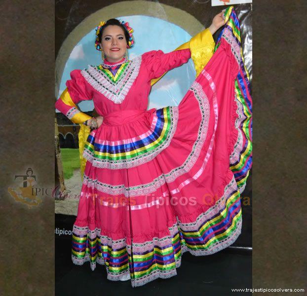 Vestido De Jalisco Profesional En 2019 Vestidos Tipicos