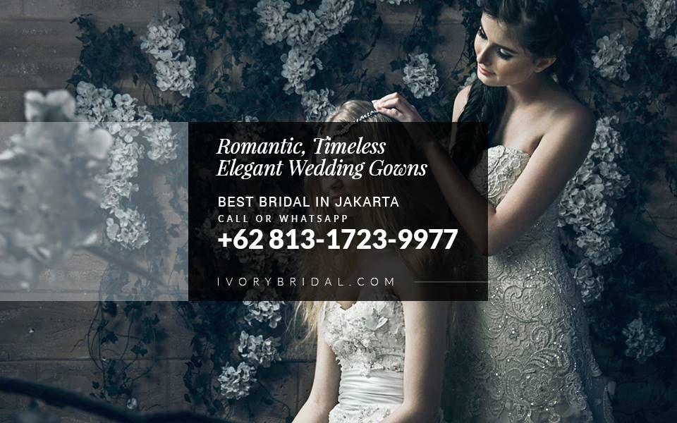 Baju Pengantin Modern Eropa Bridal Gaun Pengantin Jakarta Jual