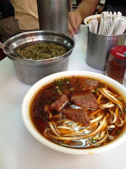Taiwanese Beef Noodle Soup Lao Wang Ji Beef Noodle Soup Beef