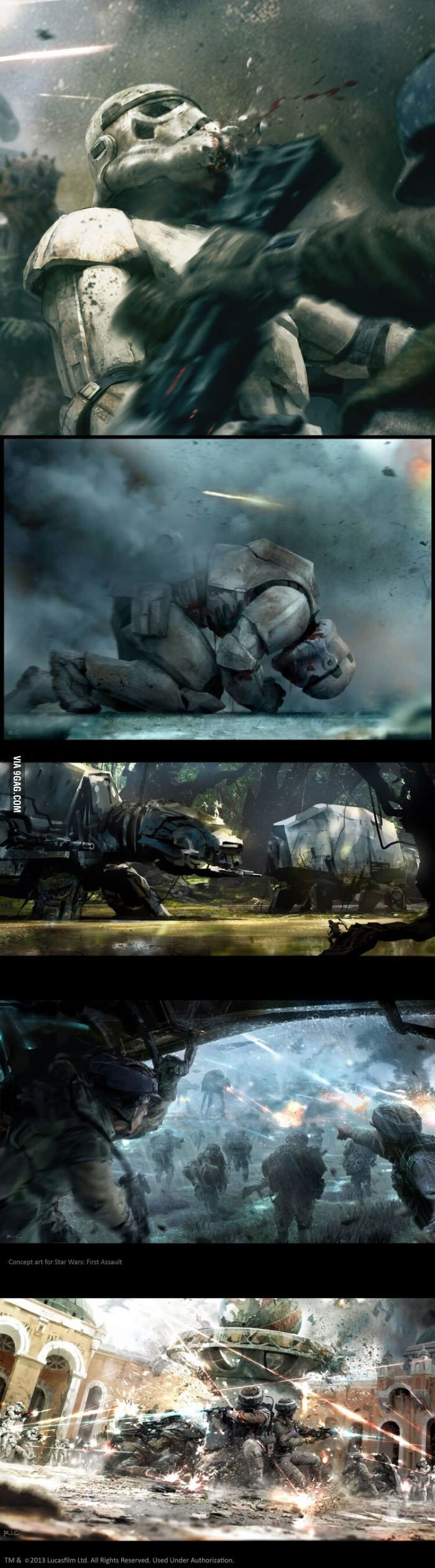 Star Wars Art - Fire Assault - #Art #Assault #Fire #Star #Wars #assault