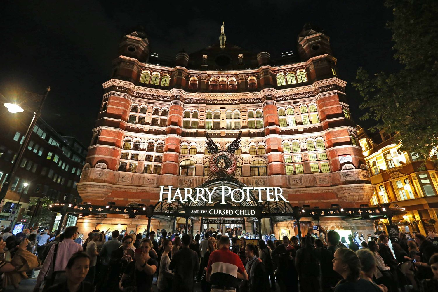 teatro do harry potter em Londres