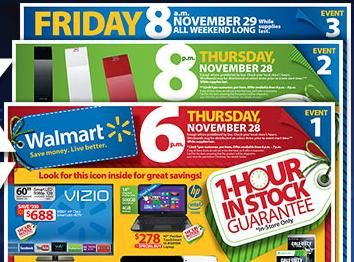Walmart Black Friday Deals 3 Events 1 Hour In Stock Guarantee Black Friday Store Map Ev Credit Card Reviews Rewards Credit Cards Walmart Black Friday Deals