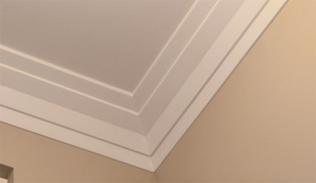 Art deco molding art deco style trim and crown molding for Contemporary trim moulding