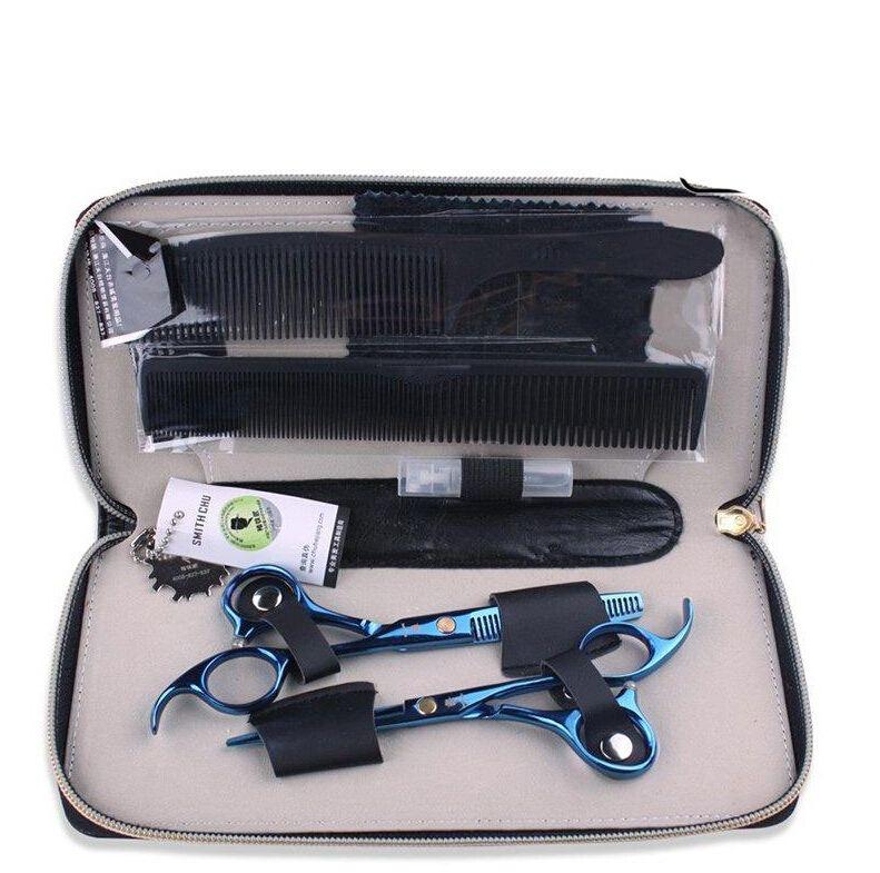 SMITH CHU 5.5 inches Professionele kapper schaar kappersscharen, haar snijgereedschap combinatie packageHM87