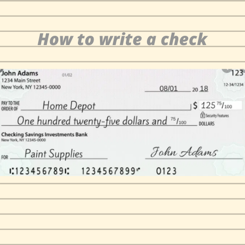 How To Write A Check Writing This Or That Questions Investing