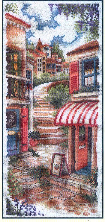 Tuscan steps