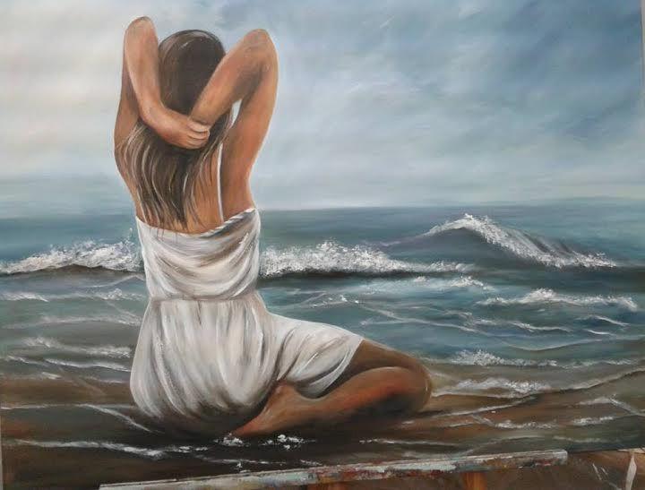 Para Mirar Pinturas Aberastegui Angelica Centro Cultural Virtual Fares Taie Pintura De Playa Pinturas De Playa Pinturas