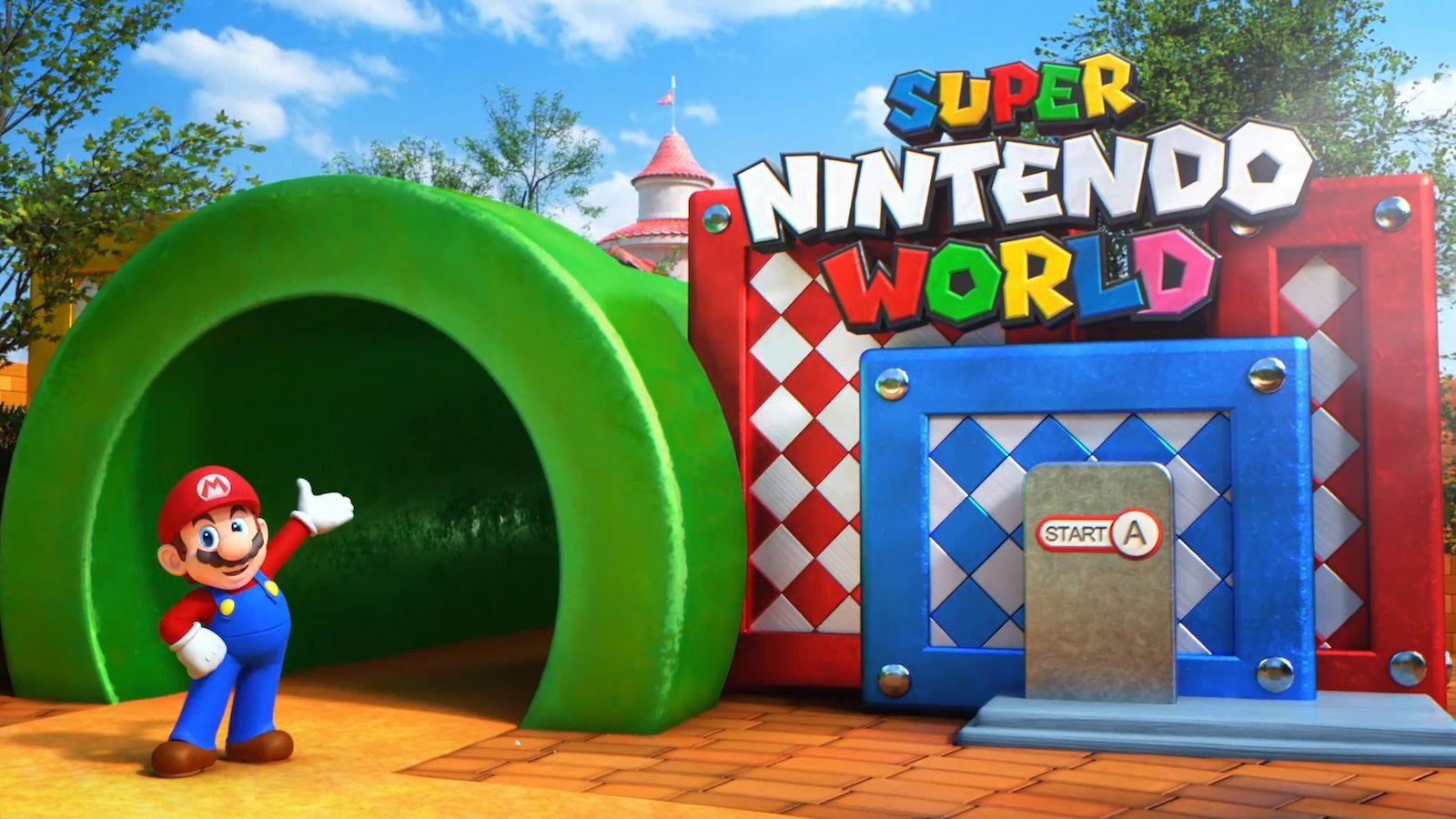 Super Nintendo World In 2020 Universal Studios Japan