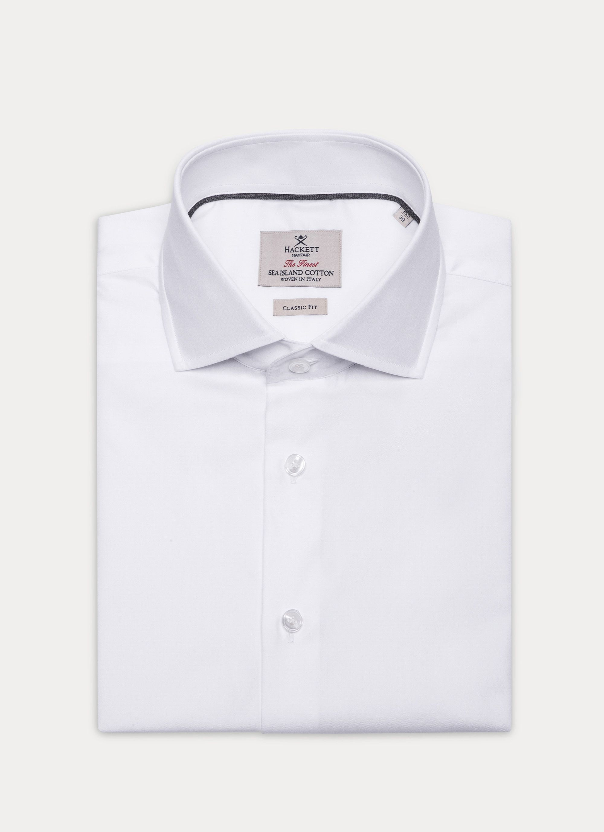 Hackett Luxurious Sea Island Cotton Shirt Hackett Cloth Hackett