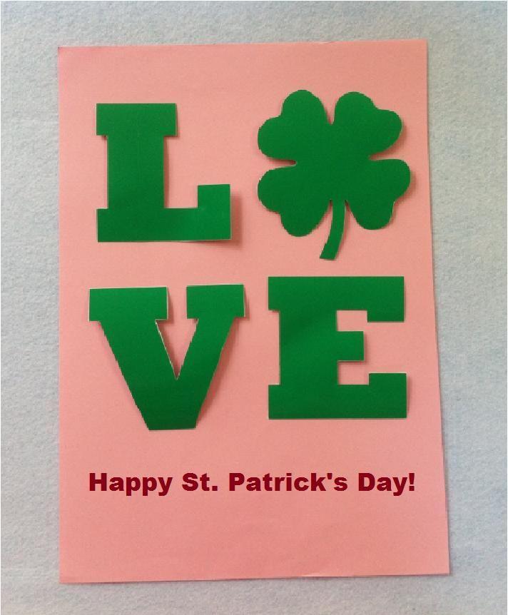 Happy St. Patrick\'s Day Card Tutorial | Santa patricia, Trabajo para ...