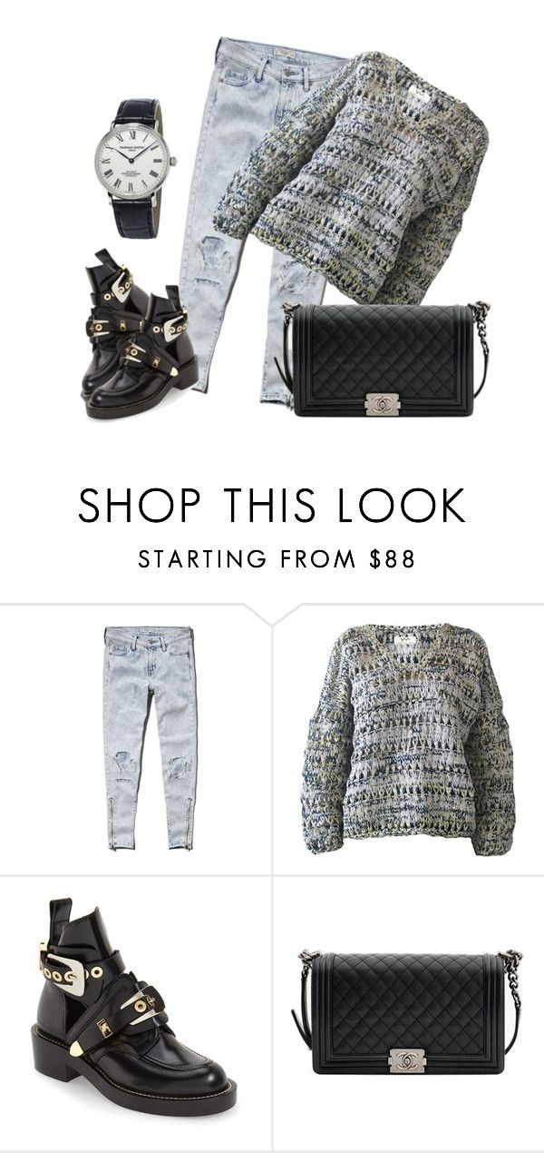 """Untitled #499"" by dream3117 on Polyvore featuring Abercrombie & Fitch, YM by Yakshi Malhotra, Balenciaga, Chanel and Frédérique Constant"