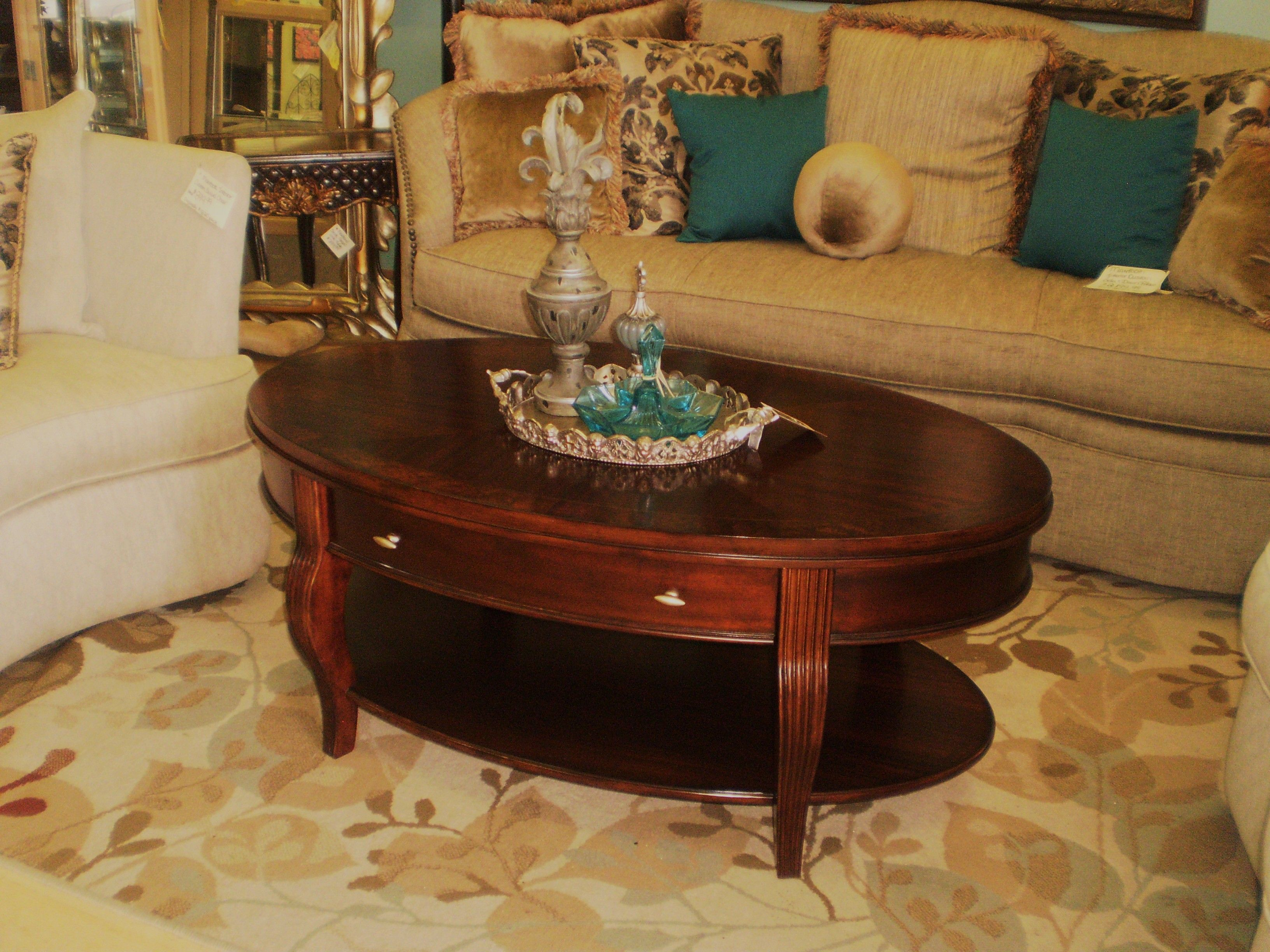 Hammary oval coffee table coffee table classic home